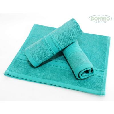 bambusový ručník 30x50 cm tyrkysový