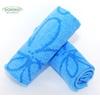 bambusový ručník FLOWER 50x90 cm modrý