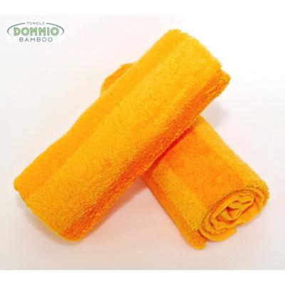 bambusový ručník STRIPE 50x90 cm žlutý