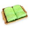 bambusová osuška 100x150 cm světle zelená
