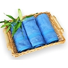 bambusový ručník 50x100 cm modrý