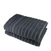 Osuška STRIPES šedá 70x140 cm