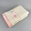 Osuška VALENTINI 70x140 krém/růžová