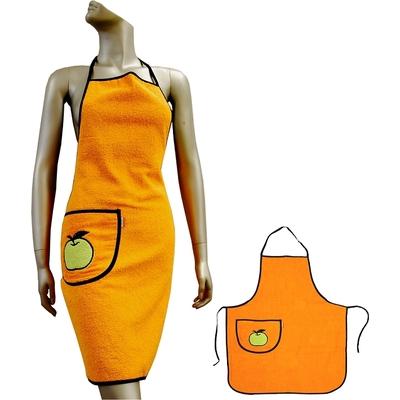 Kuchyňská zástěra VALENTINI oranžová