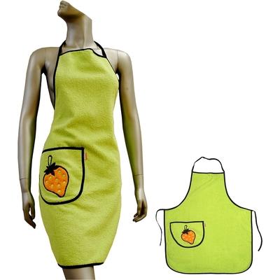 Kuchyňská zástěra VALENTINI zelená