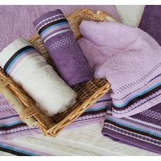 Jednobarevné ručníky a osušky