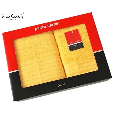 Dárkové balení ručníků Pierre Cardin - žluté