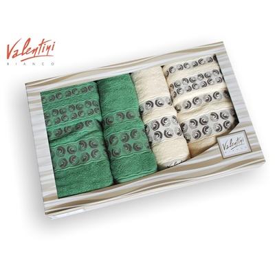 Dárkové balení ručníků VALENTINI 6 ks