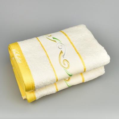 Ručník VALENTINI 50x100 krém/žlutý