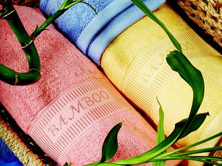 Bambusové ručníky a osušky
